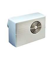 Manrose Centrifugal Fan with Humidistat and Timer (White)