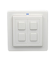 LightwaveRF 2 Gang Wire-free Switch (White)