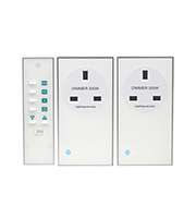 LightwaveRF Remote Dimmable Socket Kit (White)