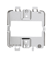 MK Grid Mounting Plate 1 Gang (Grey)