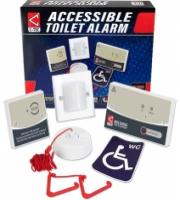 C-Tec Accessible Disabled Persons Toilet Alarm Kit (White)