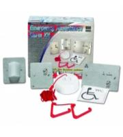 C-Tec Stainless Steel Emergency Assistance Alarm Kit (Stainless Steel)