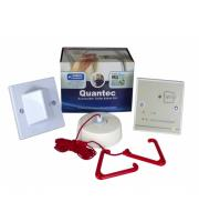 C-Tec Quantec Accessible Disabled Persons Toilet Alarm Kit (White)