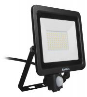 Kosnic 10w PIR for Flood Light 3000K Black