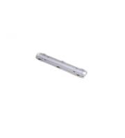 Robus Vulcan 1x12W Led Corrosion Proof, IP65, 2ft, White, 5000K (White)