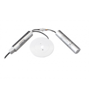 Robus Dynamo 2W Led Non Maintained Emergency Downlight, IP20, 130mm, White, 7000K (White)