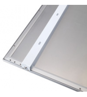 Robus Space And Atmos Surface Mount Bracket Kit For 600x600mm Panel, White, 2 X Bracket (White)