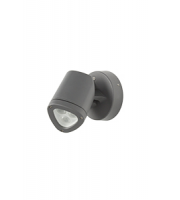 Robus Apex 4.5W Led Wall Or Spike Light, IP65, Dark Grey, 3000K (Dark Grey)