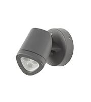 Robus Apex 4.5W Led Wall Or Spike Light, IP65, Dark Grey, 4000K
