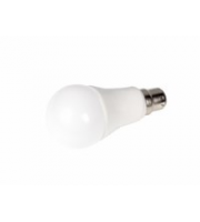 Robus Eco-gls 10W Led B22 Lamp, IP20, 2700K, Dimmable