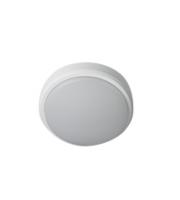 Robus Ohio 8W IP54 Circular Bulkhead, 3000K, C/w White And Black Trims (White)