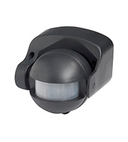 Robus Motion Detector 180 Degree PIR (Black)