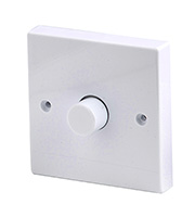 Robus Dimmer Switch 1 Gang 2 Way 400W (White)