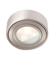 Robus Circular Cabinet Downlight (Brushed Chrome)
