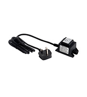 Robus 12W IP44 LED Supply Transformer (Black)