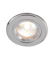 Robus GU/GZ10 Die Cast Downlight Straight (Chrome)