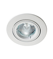 Robus GU/GZ10 Die Cast Downlight Directional (White)