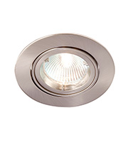 Robus GU/GZ10 Die Cast Directional Downlight (Brushed Chrome)