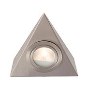Robus Triangular Cabinet Downlight (Brushed Chrome)