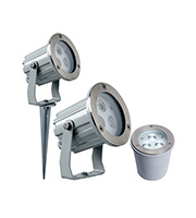 Robus High Power LED Wall Spike & Ground Light (Warm White)