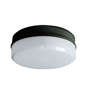 Robus Compact 16W 2D Surface Fitting with Opal Diffuser (Black)