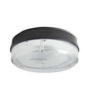 Robus Compact 16W 2D Surface Fitting with Prismatic Diffuser (Black)