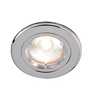 Robus 12V Die Cast Circular Straight Downlight (Chrome)