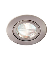 Robus 12V Die Cast Circular Directional Downlight (Brushed Chrome)