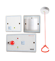 Robus Disabled Persons Toilet Alarm Kit (White)