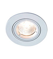 Robus Cast Fire Rated Tilt Downlight Low Voltage (White)
