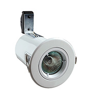 Robus Cast Fire Rated GU10 Downlight (White)