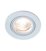 Robus Cast Fire Rated GU10 Tilt Downlight (White)