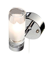 Robus Single G9 Bathroom Wall Light (Chrome)