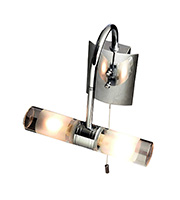 Robus Swan G9 Bathroom Wall Light (Chrome)