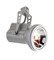 Robus 12V Track Projector for AR111 Lamp (Satin Silver)