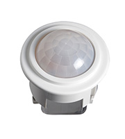 Robus Recessed Presence Detector 360 Degrees PIR (White)
