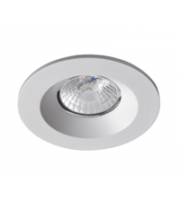 Robus Cavan 8W Cob Led Downlight, IP65, 90mm, White, 3000K, Dimmable (White)