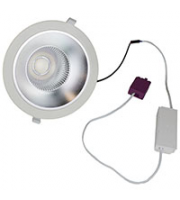 Robus Granada 20W Led Downlight, UGR<19, White, 4000K (White)