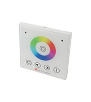 Robus Vegas 768W Controller, IP20, Rgbw, With Wall Mounted Touch Panel (White)