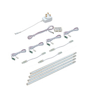 Saxby Lighting Chop Cabinet Lighting Kit 6W (Clear)