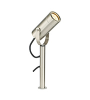 Saxby Lighting Palin Small Spike IP44 35W Light (Brushed Stainless)