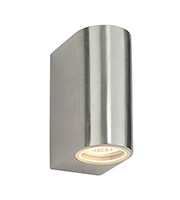Saxby Lighting Doron IP44 35W Wall Light (Brushed Aluminium)