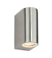 Saxby Lighting Doron IP44 35W Wall Light (Brushed Aluminium)