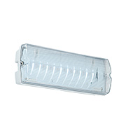 Saxby Lighting Linus Emergency IP65 2.5W Bulkhead (White)