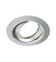 Saxby Lighting Zante Small 5W Downlight (Silver)