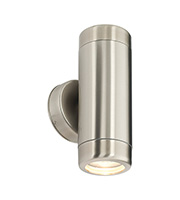 Saxby Lighting Atlantis Twin Wall IP65 35W Light (Marine Grade Stainless)