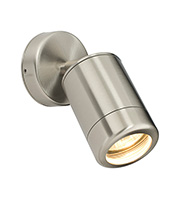 Saxby Lighting Atlantis Spot IP65 35W Wall Light (Marine Grade Stainless)