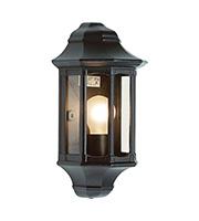 Saxby Lighting Traditional IP44 60W Wall Light (Satin Black)