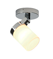 Endon Lighting Cosmo Single IP44 25W Spotlight (Chrome)