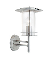 Saxby Lighting York IP44 60W Wall Light (Polished Stainless)